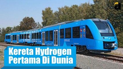 Wow, Ini Kereta Bertenaga Hidrogen Pertama di Dunia