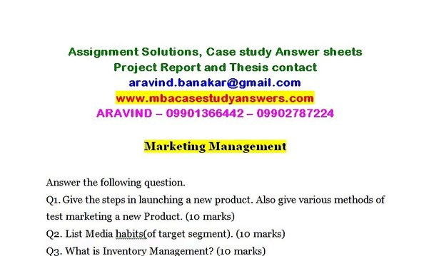 Marketing Management 2