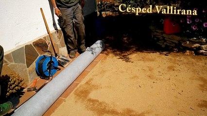 Cómo colocar nuestra malla geotextil para cesped artificial | Cesped artificial Barcelona
