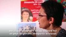 """Nathalie Arthaud : """"Je suis révolutionnaire et solidaire des révolutionnaires"""""""