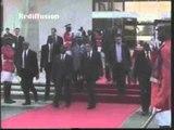 Départ du 1er Ministre Français François Fillon après une visite de 48 heures en Côte d'Ivoire