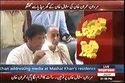Mashal Ne Koi Tauheen-e-Risalat Nahi Ki Imran Khan's Media Talk With Mashal Khan's Parents