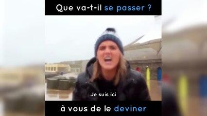 Cette femme tourne une vidéo... C'est alors que...