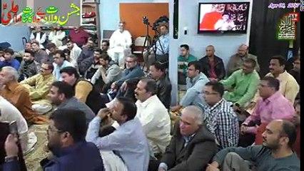 Syed Raza Abbas Zaidi Reciting Live Manqabat | Rajab Sy Or Mah-e-Shaban Sy Jal Jaty Hain |at Calgary Canada 2017