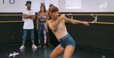 Les Anges : Evy se ridiculise pendant un cours de danse et fond en larmes (vidéo)