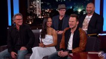 Cast Of 'Guardians of the Galaxy' Confirms Spoiler On 'Jimmy Kimmel'
