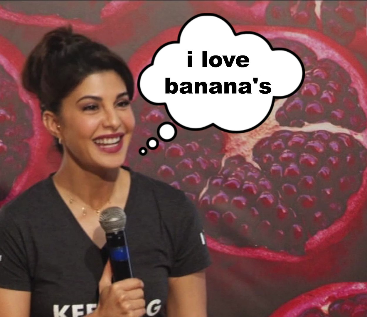 Jacqueline Fernandez Gives Funny Answers