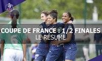 Coupe de France Féminine, 1/2 finales : les buts
