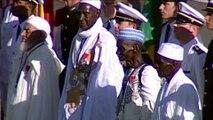 Cérémonie de naturalisation d'anciens tirailleurs sénégalais