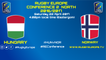 HUNGARY / NORWAY - RUGBY EUROPE CONFERENCE 2 NORTH 2016-2017