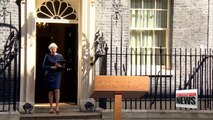 British PM Theresa May plans to hold general election June 8