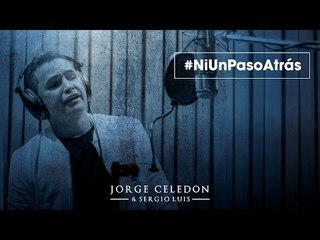 Ni Un Paso Atras - Video Lirycs Jorgito Celedon y Sergio Luis Rodriguez