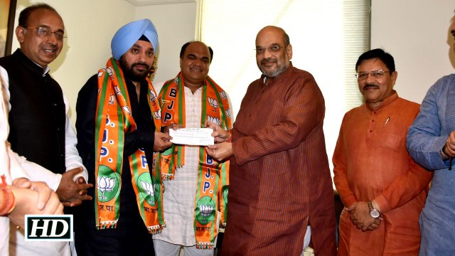 Delhi Congress ex chief Lovely quits party joins BJP
