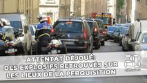 Attentat déjoué: Des explosifs retrouvés sur les lieux de la perquisition