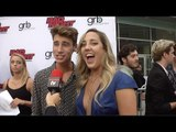 """Jack Baran & Lexie Lombard Interview // """"Bad Night"""" Los Angeles Premiere Red Carpet"""