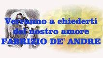 Fabrizio De Andrè - Verranno a chiederti del nostro amore (cover)