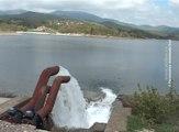 Počelo upumpavanje vode u Borsko jezero, 18. april 2017. (RTV Bor)