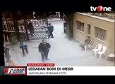 Bom Bunuh Diri di Mesir Terekam CCTV, Puluhan Orang Tewas