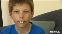 Cet ados aux dents difformes va voir sa vie changée par de nouvelles dents