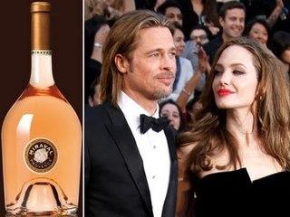 Angelina Jolie & Brad Pitt Wine: Red Carpet Rose Wine TV