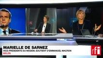 Marielle de Sarnez, vice-présidente du MoDem, députée européenne, soutien d'Emmanuel Macron