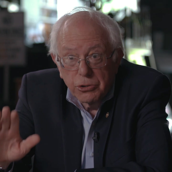 Here's what Bernie Sanders told Mic about Trump draining american taxpayers [Mic Archives]