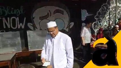 Habib Rizieq Shihab Menggunakan Hak pilih