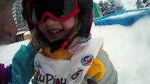 7 SECONDS CHALLENGE • Challenges entre soeurs dans la neige - Stud