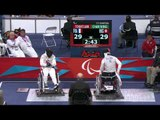 Wheelchair Fencing FRA v HKG Men's Team Cat. Open Semifinal 1 -  London 2012 Paralympic Games.mp4