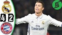 Real Madrid 4-2 Bayern Munich 2017 - Highlights & Goals