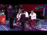 Wheelchair Fencing - Women's Team Cat. Open - Victory Ceremony - London 2012 Paralympic Games