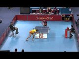 Table Tennis - ESP vs POL - Men's Team - Class 6-8 Gold Mdl Match - London 2012 Paralympic Games