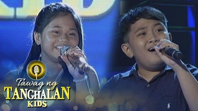 Tawag ng Tanghalan Kids: Von Ivan Pedrajas vs. Reign Curthney Basa