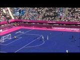 Football 7-a-side - GBR vs ARG - Men's Semifinal 1 - Extra Time - London 2012 Paralympic Games