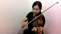 March from Peasant's Cantata - Violin by วิว