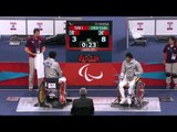 Wheelchair Fencing - CHN vs CHN - Men's Ind Sabre - Cat. A Final - London 2012 Paralympic Games