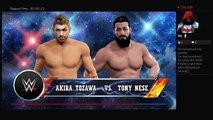205 Live 4-18-17 Akira Tozawa Vs Tony Nese