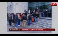 Bordeaux : la fourrière enlève 215 véhicules à cause du marathon
