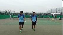 【アジアソフトテニス選手権男子ダブルス】桂・増田(日本)vs キム ドンフン・キム ボムジュン(韓国) part 2/2