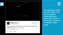 Huge asteroid to fly extremely close to the Earth