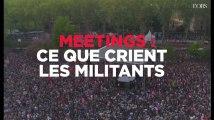Mélenchon, Le Pen, Macron, Fillon : que crient leurs militants dans les meetings ?