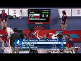 Wheelchair Fencing   Men's Ind  Sabre   Cat  A Round of 16   London 2012 Paralympic Games
