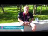 Samsung Blogger - Lasse Andersen Denmark swimmer on his first Paralympics, Paralympics 2012