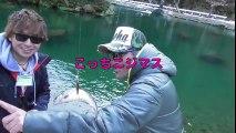 冬のブラックバス釣り 釣れない方は管理釣り場 高橋魚紳 東大樹 おさぼ 朽木渓流魚センター  エリアトラウト