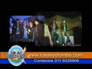 TV Ref: En Bucaramanga con LA MEGA - Los De Yolombo