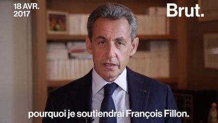 Sarkozy, Juppé et Copé affichent leur soutien à Fillon. Mais avant ils disaient quoi ?