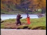 Banned commercials - funny clips- bear fight funny as shit
