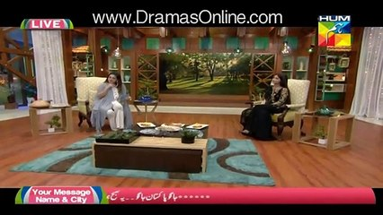 Sajal Ali Crying in a Live Show After Remembering Her Mother - Tune.pk