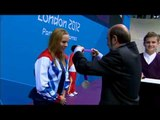 Swimming - Women's 50m Freestyle - S9 Victory Ceremony - London 2012 Paralympic Games