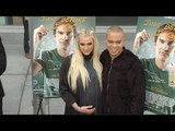 """Pregnant Ashlee Simpson & Evan Ross """"Just Before I Go"""" Los Angeles Special Screening"""